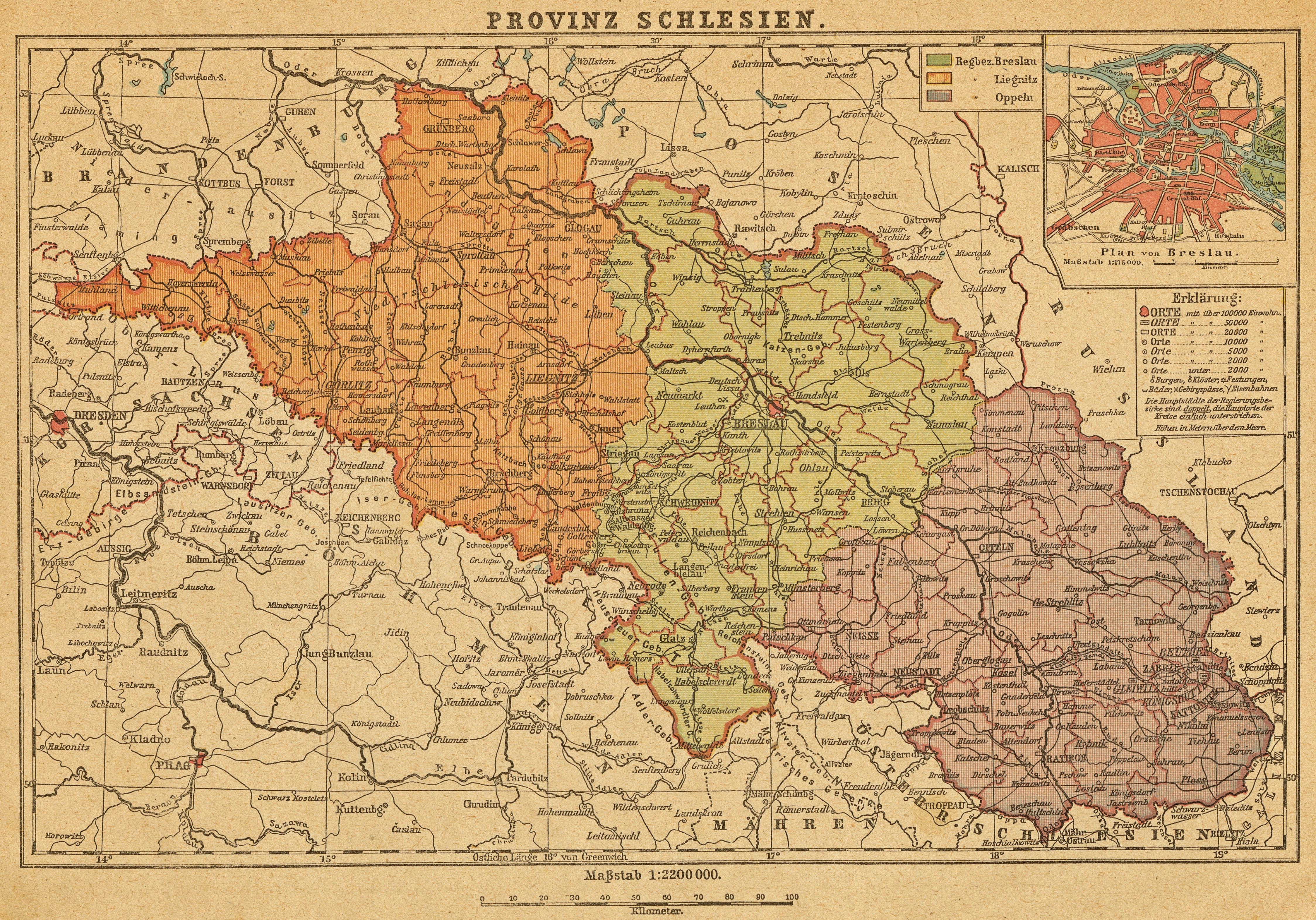Grafschaft Glatz In Schlesien
